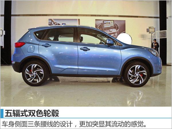 东风风神第三款suv车型ax5今日上市比亚迪元室内保险合图片