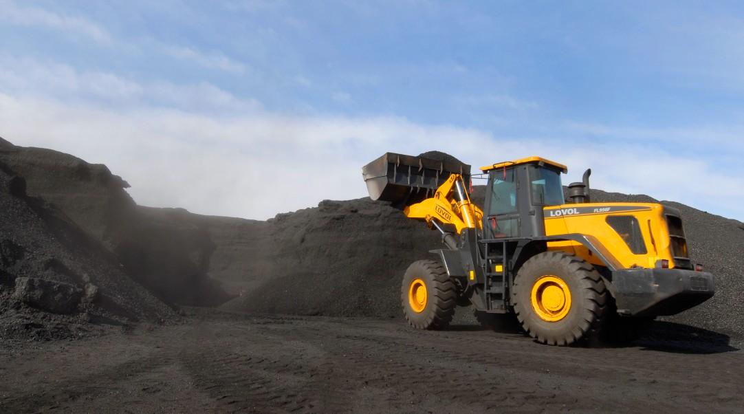 Le cours du charbon en Chine