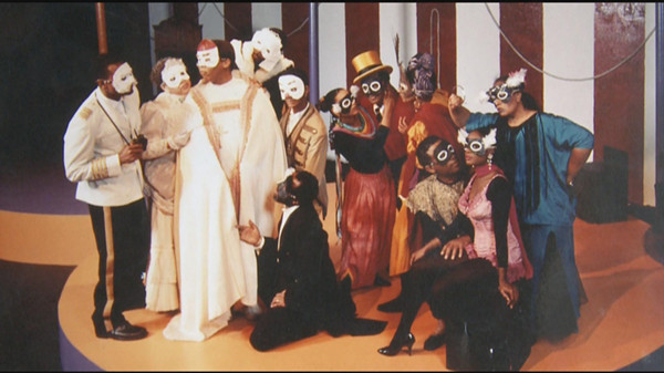 Theatre actors. The Emperor was fond of theatre acting and he supported many young Ethiopians.