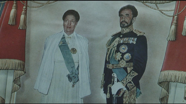 The Emperor with his wife Queen Menen.