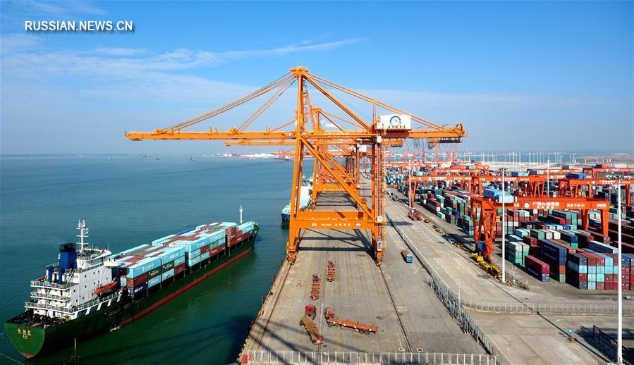 Объем грузооборота порта Циньчжоу побил новый рекорд