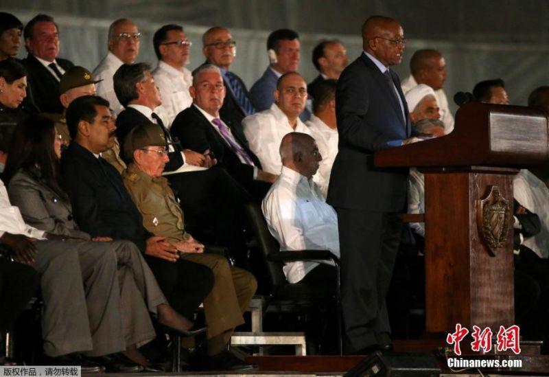 Líderes mundiales asisten a actos en honor a Fidel Castro en Cuba