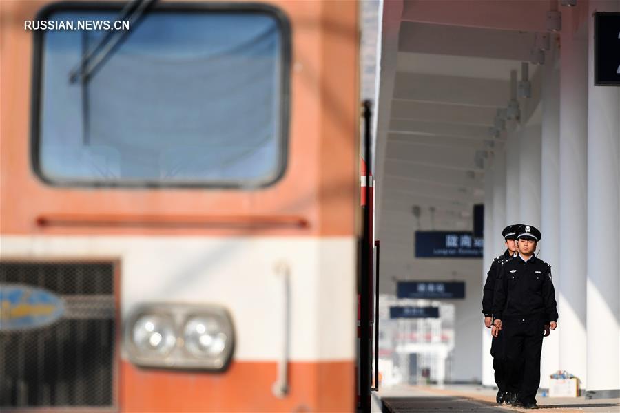 Участок Миньсянь -- Гуанъюань железнодорожной магистрали Ланьчжоу -- Чунцин готовится к открытию
