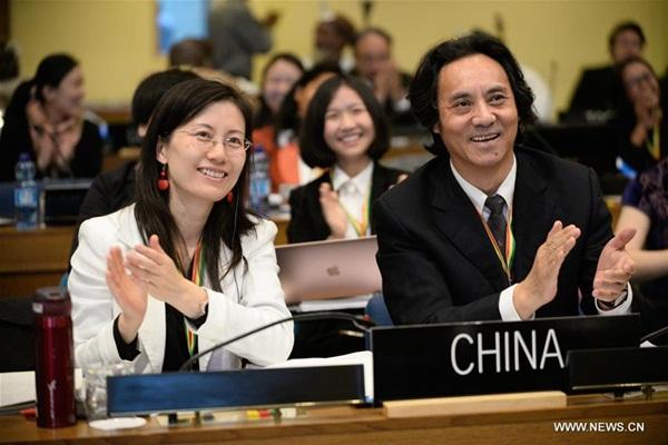 """الوفد الصيني يحتفل بإدراج """"النقاط الشمسية الصينية الـ24 """"على قائمة التراث الثقافي غير المادي في أديس أبابا يوم 30 نوفمبر"""