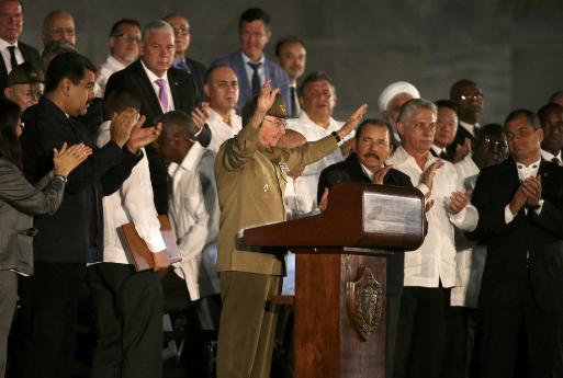 На митинг памяти Фиделя Кастро в Гаване пришли более миллиона человек