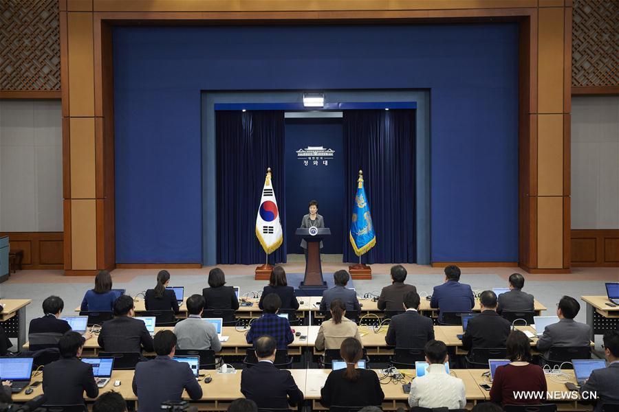 Presidenta Park designa a un fiscal especial para afrontar el caso de corrupción y tráfico de influencias