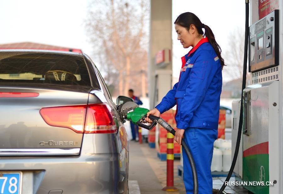 Китай повысил цены на бензин и дизельное топливо