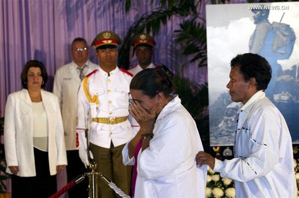 زعماء دول يحضرون مراسم تأبين كاسترو في هافانا