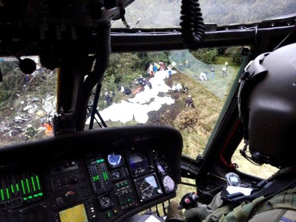 Investigadores brasileños llegan a Colombia para colaborar en investigación de accidente aéreo
