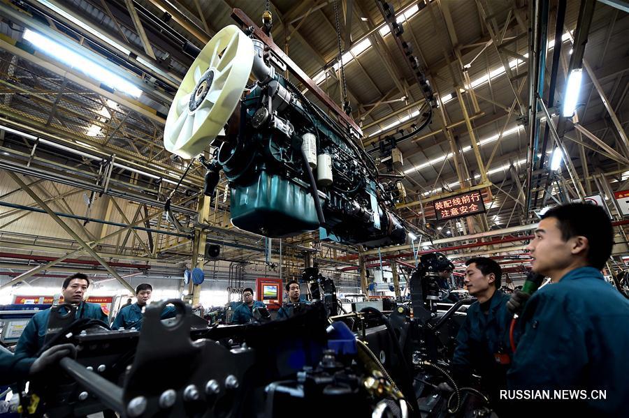 Индекс PMI в обрабатывающей промышленности в Китае в ноябре вырос до 51,7 процента