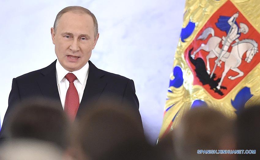 Presidente ruso habla sobre relaciones con China y EEUU