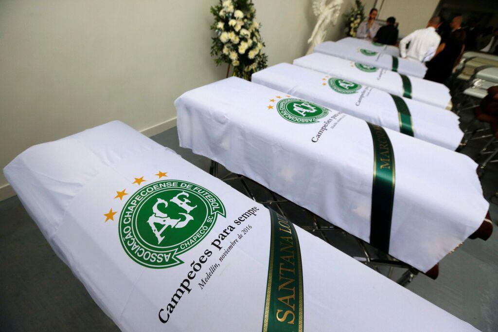 Chapecoense confirma que se han identificado todos los cuerpos