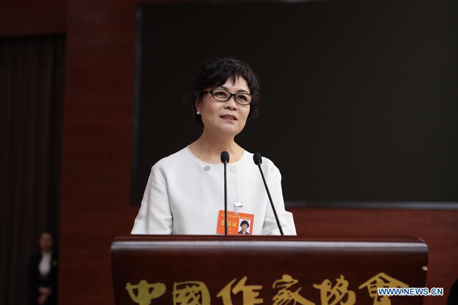 Tie Ning élue présidente de la Fédération chinoise des hommes de lettres et des artistes de Chine