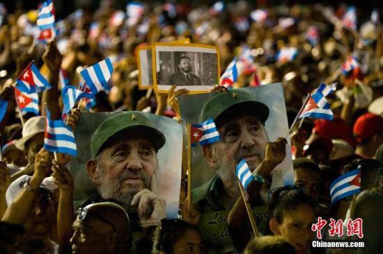 Reacción del pueblo cubano tras el fallecimiento de Fidel Castro