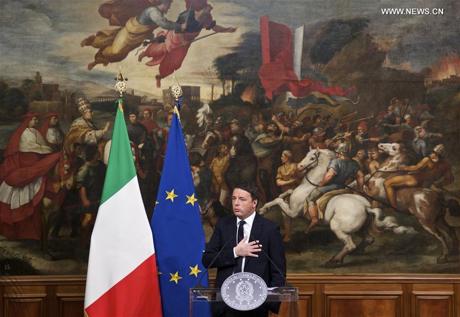 PM de Italia Matteo Renzi anuncia dimisión tras rechazadas reformas de constitución