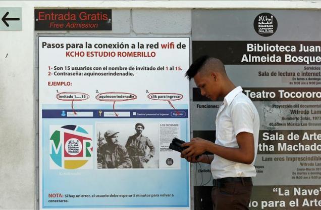 Continúa ampliándose el servicio de acceso a internet en Cuba