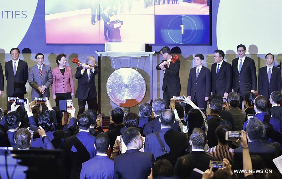 Lancement officiel du système de connexion entre les bourses de Shenzhen et de Hong Kong