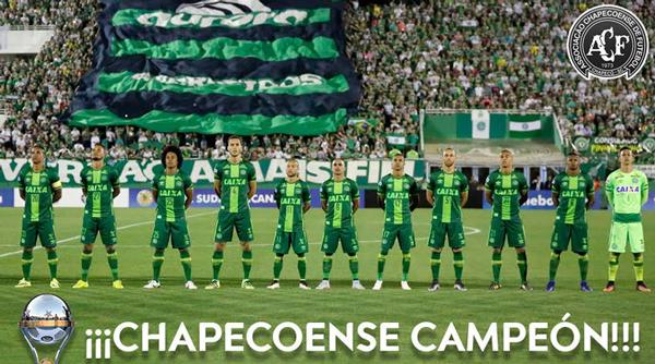 Chapecoense, campeón oficial de la Copa Sudamericana