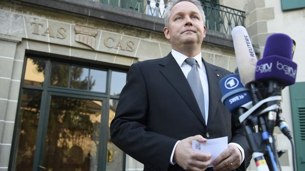 Fútbol: El TAS confirma la sanción de seis años de inhabilitación