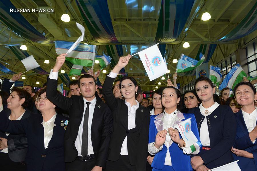 На выборах президента Узбекистана победил Ш.Мирзиеев -- Центризбирком