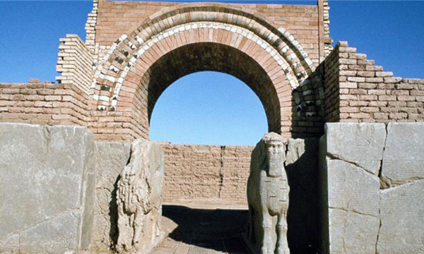 Nimrud, site of ancient Assyrian city