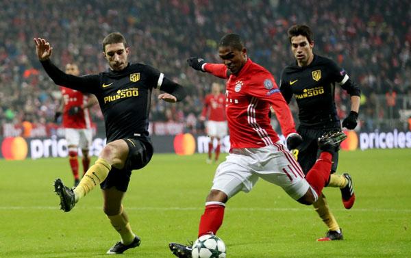 Fútbol: El Bayern vence(1-0)al At. Madrid en un partido de relleno