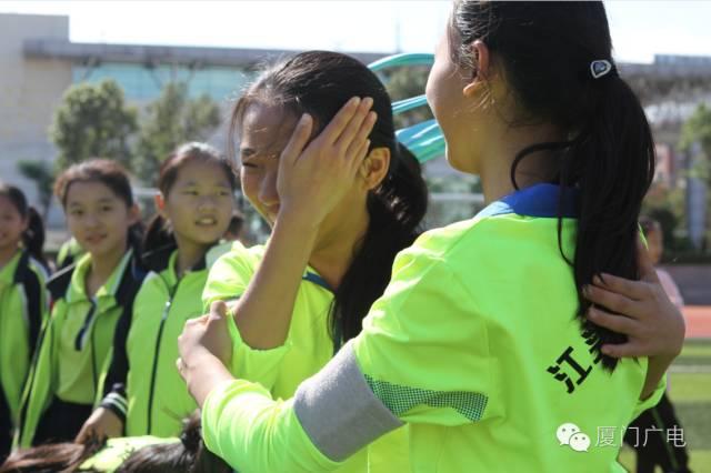 比赛中,有欢笑,有泪水,但孩子们收获了更多,同学间的友谊!