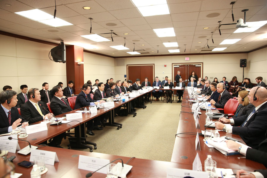The third U.S.-China High-Level Joint Dialogue on Cybercrime and Related Issues was held Wednesday in Washington DC. [Photo: CRIENGLISH.com]