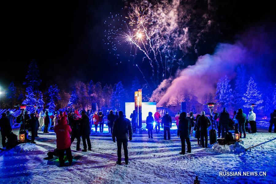Платежная система Alipay теперь доступна в деревне Санта-Клауса в Финляндии