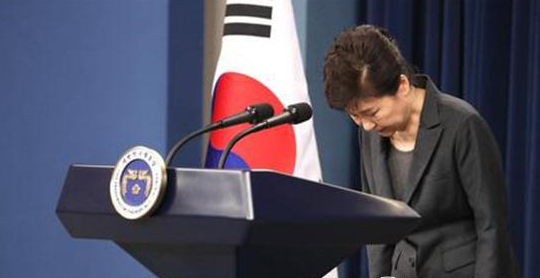 Le parti au pouvoir confirme que la présidente Park va quitter son poste en avril