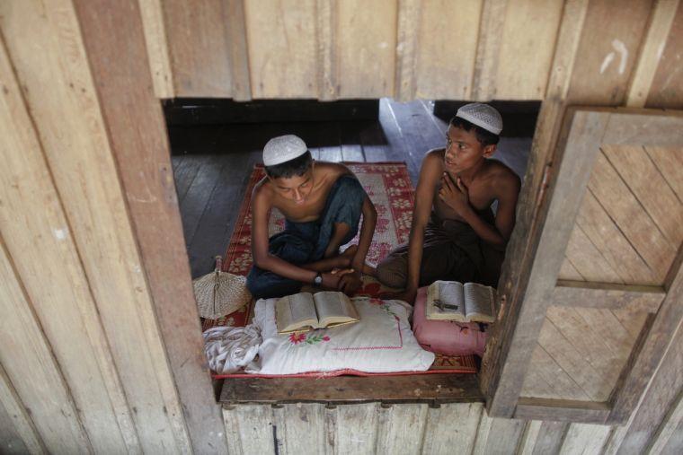 Les Musulmans rohingyas dans la misère
