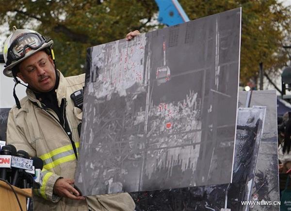 انتهاء أعمال البحث في موقع حريق أوكلاند وحصيلة الضحايا تستقر عند 36 قتيلا