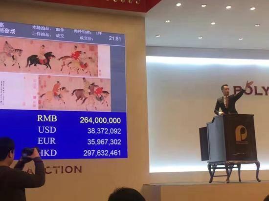 La pintura mural de la dinastía Yuan marca un nuevo récord de subastas