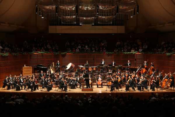 La Orquesta Filarmónica de China actúa en Los Ángeles
