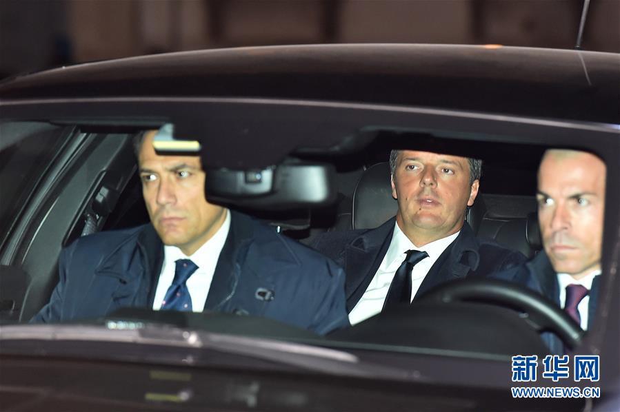 Le Premier ministre présente sa démission après le non au référendum