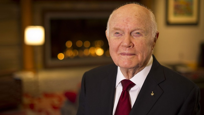 John Glenn, whose 1962 flight as the first U.S. astronaut to orbit the Earth made him an all-American hero and propelled him to a long career in the U.S. Senate, died Thursday. The last survivor of the original Mercury 7 astronauts was 95.