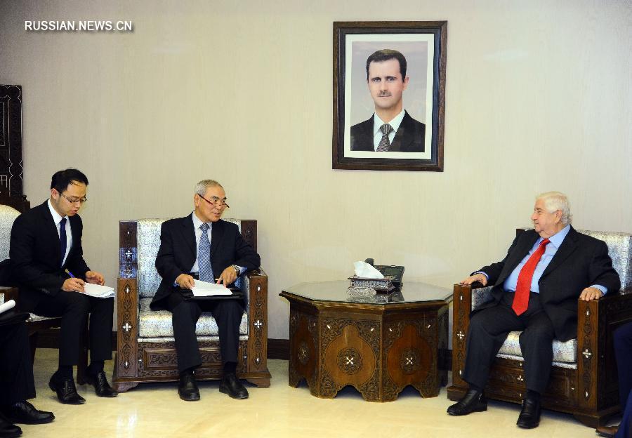 Сирия высоко ценит позицию Китая по проекту резолюции СБ ООН по Алеппо