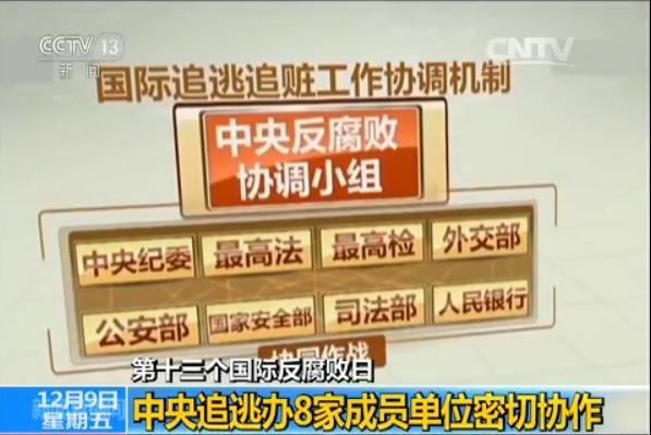 【视频】速速围观反腐败大数据 中国倡导引领反腐国际合作(图)