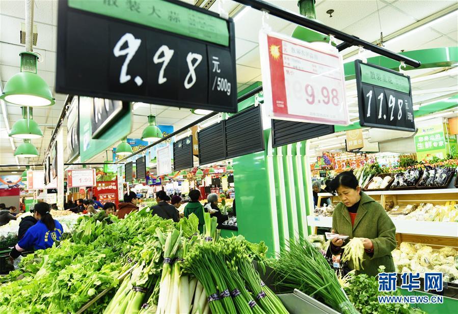 Рост индекса потребительских цен ускорился до 2,3% годовых