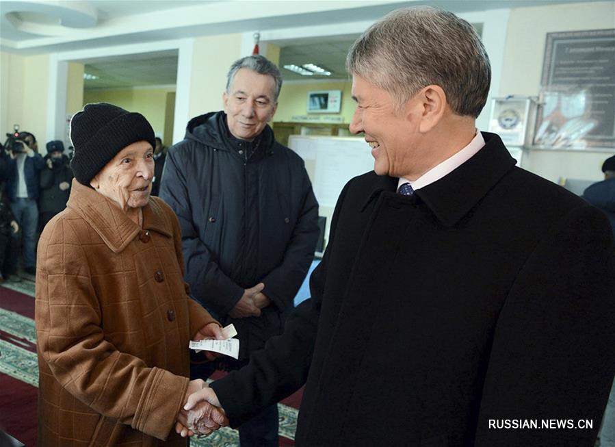 В Кыргызстане проходит референдум по изменениям в Конституцию страны
