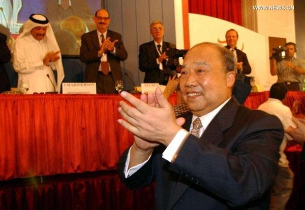 الصين انضمت لمنظمة التجارة العالمية باعتبارها العضو الـ143 في 11 ديسمبر 2001