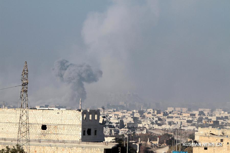 Сирийская армия контролирует 93 процента занятой повстанцами территории Алеппо