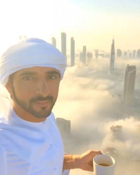 Le prince héritier partage des images de Dubaï
