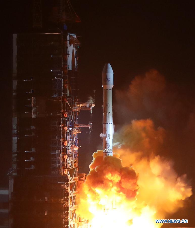 La Chine lance un satellite de télédétection avancée