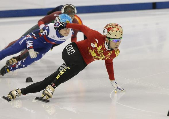 Elise Christie wins second short track World Cup gold in Shanghai