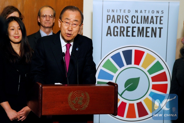 Primer aniversario de aprobación de Acuerdo de París sobre Cambio Climático