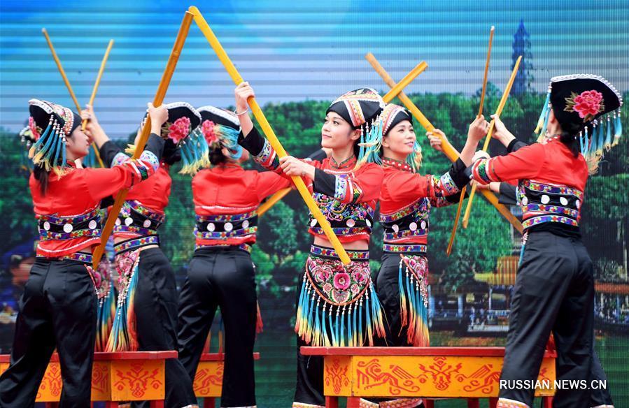 Туристический фестиваль на китайско-вьетнамской границе