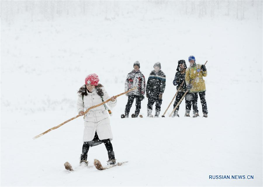 В ландшафтном парке Канас открылся зимний туристический сезон