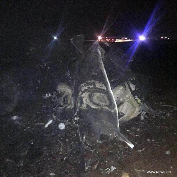 تحطم مقاتلة إف-16 جنوب شرق تركيا