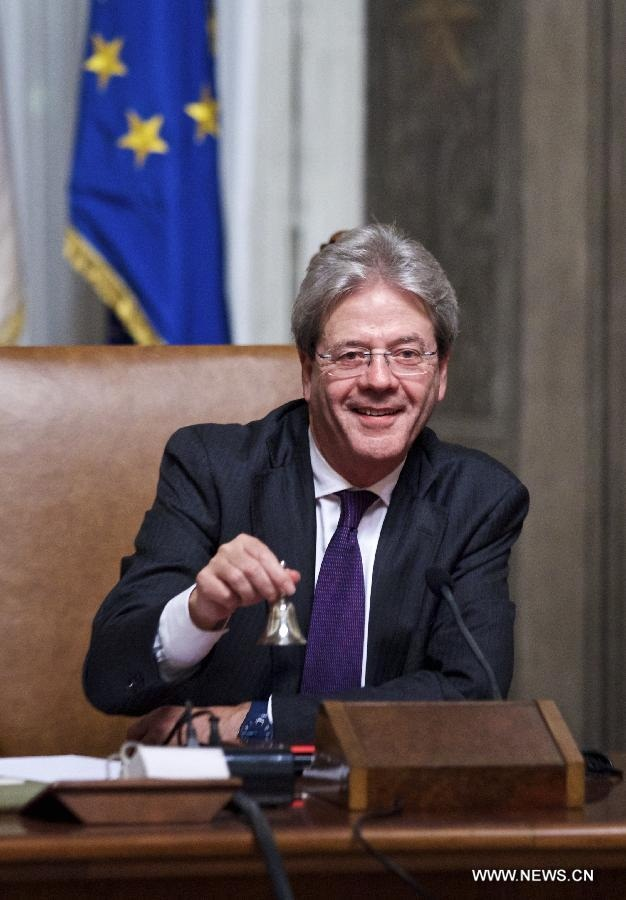 رئيس الوزراء الايطالي الجديد يكشف عن حكومته الجديدة